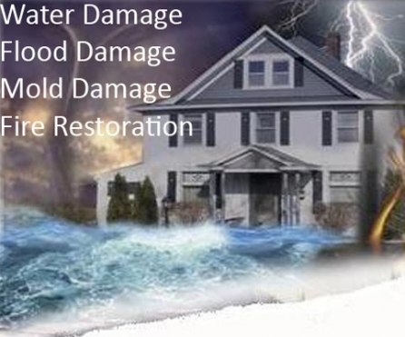 Water, Fire, Mold, Flood Damage Services 24/7